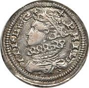 3 tari - Filippo III – avers