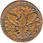 1 grano Ferdinando III di Borbone – avers