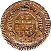 1 grano Ferdinando III di Borbone – revers