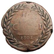 10 Grani - Ferdinando III di Borbone – revers