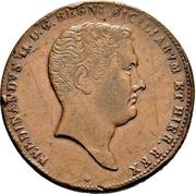 10 Grani - Ferdinando II – avers