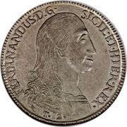 12 tari - Ferdinando I – avers