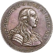 1 oncia, 30 tari - Ferdinando – avers