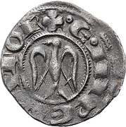 1 Denaro - Henry VI and Frederick II (HRE) – revers