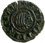 1 Denaro - Federico II – avers