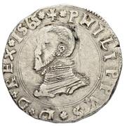1/2 Scudo - Filippo II – avers