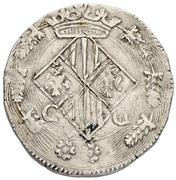 1/2 Scudo - Filippo II – revers
