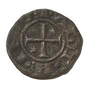 1 Denaro - Henry VI & Constance - Brindisi – avers