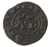 1 Denaro - Henry VI & Constance - Brindisi – revers