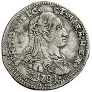 1 Tarí - Ferdinando III – avers