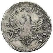 1 Tarí - Ferdinando III – revers