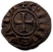 1 Denaro Enrico VI e Costanza – avers