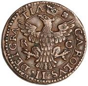 1 grano Carlo II – avers