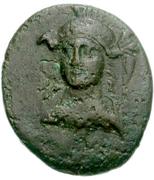 Bronze Æ16 (Side) – avers