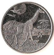1 dollar (Girafe) – revers