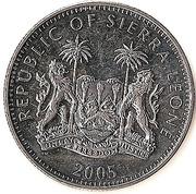 1 dollar (Gorille des montagnes) – avers