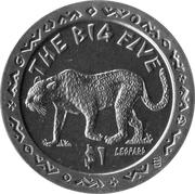 1 dollar (Léopard) – revers
