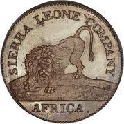 1 cent - Sierra Leone Company – avers