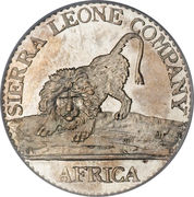 10 cents - Sierra Leone Company – avers