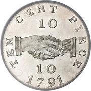 10 cents - Sierra Leone Company – revers