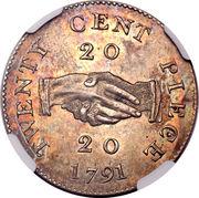 20 cents - Sierra Leone Company – revers