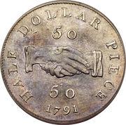 50 cents - Sierra Leone Company – revers
