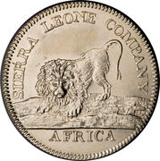 1 dollar (type 100) - Sierra Leone Company – avers