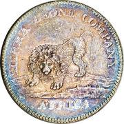 1 dollar (type 1) - Sierra Leone Company – avers