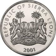 1 Dollar (Panthère noire) – avers