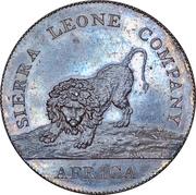 1 penny - Sierra Leone Company – avers