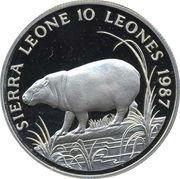 10 Leones (WWF) – avers