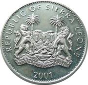1 dollar (Éléphants) – avers