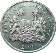1 dollar (Buffle) – avers