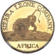 10 Cents (Sierra Leone Company) – avers