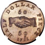 50 Cents (Sierra Leone Company) – revers