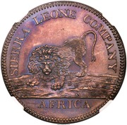 "1 Dollar (Sierra Leone Company; type ""100"") – avers"