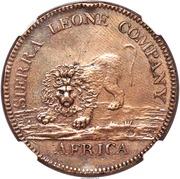 "1 Dollar (Sierra Leone Company; type ""1"") – avers"