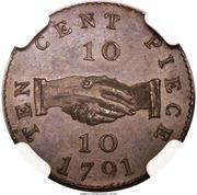 10 Cents (Sierra Leone Company) – revers