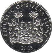 1 Dollar (Visite du Pape Benoît XVIà Cologne) – avers