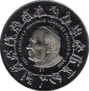 1 dollar (Jean-Paul ll) – revers