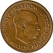 ½ cent -  avers