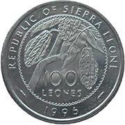 100 Leones – avers