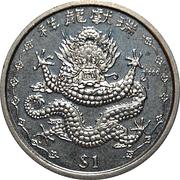 1 Dollar (Chinese Dragon) – revers
