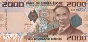 2000 Leones -  avers