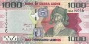 1,000 Leones – avers