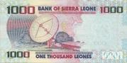 1,000 Leones – revers