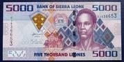 Sierra Leone 5000 Leones 2010 – avers