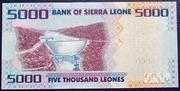Sierra Leone 5000 Leones 2010 – revers