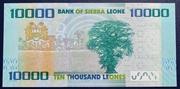 Sierra Leone 10000 Leones 2010 – revers