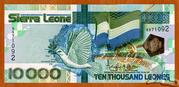 10 000 Leones – avers